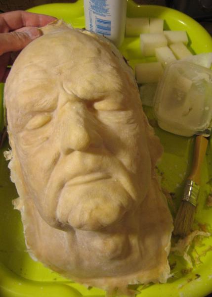 Изготовление латексной маски методом холодного литья - Форум о латексе RubberDay
